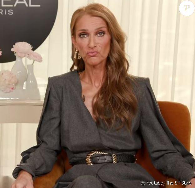 Céline Dion s'amuse à grimacer en parlant de chirurgie esthétique pour Sunday Times Style. Avril 2019.