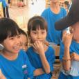 Laeticia Hallyday sur Instagram, le mercredi 17 avril 2019. Voyage au Vietnam.