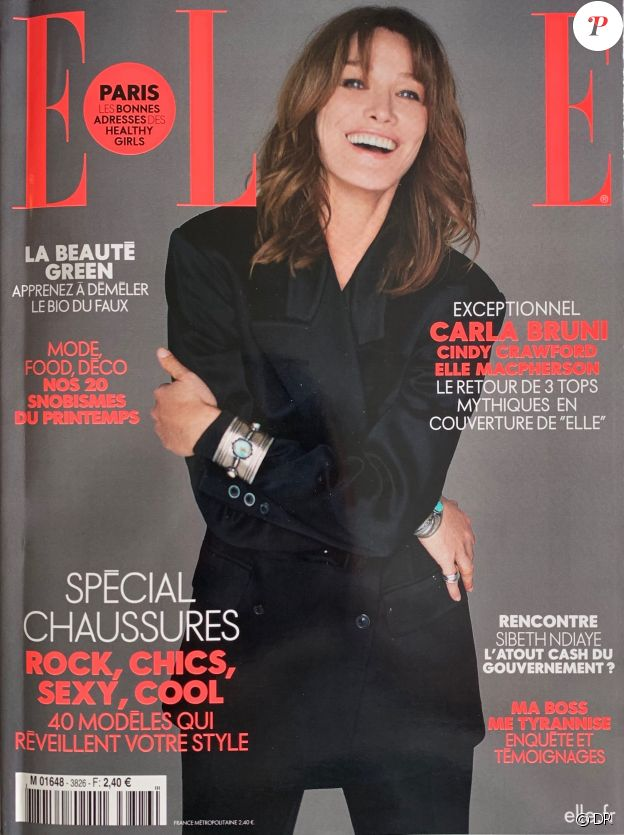 Elle, en kiosques le 19 avril 2019.