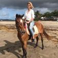 Sylvie Tellier à la Martinique le 16 avril 2019.