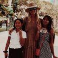 Jade Hallyday sur Instagram, le mercredi 17 avril 2019. Voyage au Vietnam.