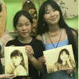 Joy et Jade Hallyday en voyage au Vietnam- 20 avril 2019.