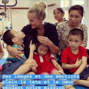 "Laeticia Hallyday au Vietnam : ""On donne mais en échange, on reçoit tellement..."""
