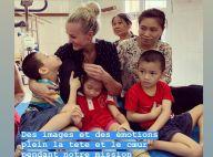 """Laeticia Hallyday au Vietnam : """"On donne mais en échange, on reçoit tellement..."""""""
