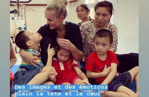 Laeticia Hallyday au Vietnam :