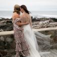 Jenna et Barbara Bush - Mariage de Barbara avec Craig Coyne à  Kennebunkport, dans le Maine, le 7 octobre 2018.