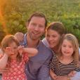 Jenna Bush Hager, son mari Henry Hager et leurs filles Mila et Poppy - mars 2019.