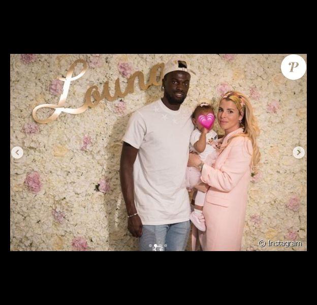 Emilie Fiorelli et son amoureux M'Baye Niang ont célébré le premier anniversaire de leur fille Louna, née le 22 avril 2018.