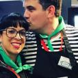 """Pierre et Frédérique de """"L'amour est dans le pré"""" complices au Salon de l'agriculture - Instagram, 24 février 2019"""