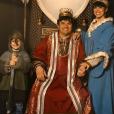 Pierre, Frédérique et leur fils Gabriel au Puy-du-Fou - Instagram, 26 avril 2019