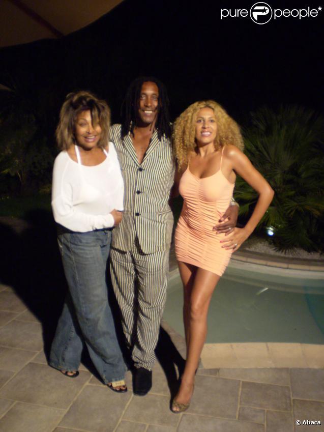 Lesly du Loft (Afida Turner), ici avec Ronnie Turner son mari et Tina Turner