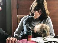 """Carla Bruni : Comblée par Giulia, sa """"princesse"""", elle publie une nouvelle photo"""