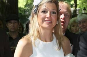 Maxima des Pays-Bas : même quand elle a les boules, elle garde le sourire...