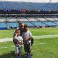 Tony Parker et ses fils sur Instagram.