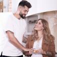 """Jesta et Benoît, ex-candidats de """"Koh-Lanta"""" fêtent leur trois ans d'amour. Avril 2019."""