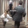 Carla Bruni Sarkozy sur Instagram- jeudi 2 mai 2019- Voyage en avion avec Nicolas Sarkozy et l'adorable Giulia.