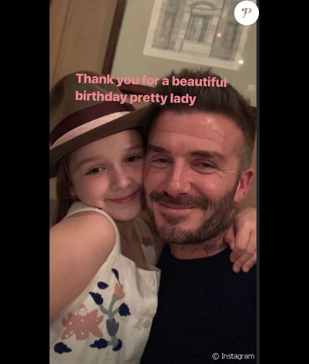 Anniversaire de David Beckham.