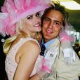 Anna Nicole Smith et son ex-compagnon Larry Birkhead au Kentucky Derby à Louisville en 2004.