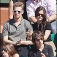 Rachel Bilson et Hayden Christensen à Roland Garros en 2009.