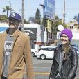 Exclusif - Rachel Bilson et son mari Hayden Christensen sont allés déjeuner au restaurant 'Du-Par' à Los Angeles, le 23 mars 2017 © CPA/Bestimage