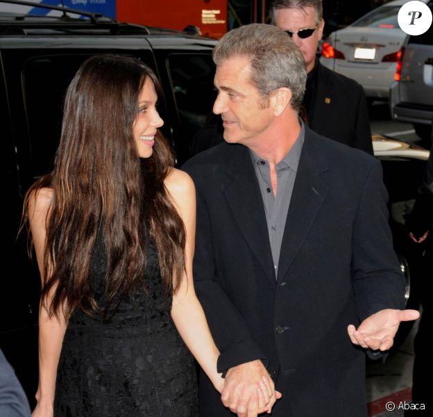 Mel Gibson et sa girlfriend Oksana Grigorieva