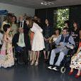 Letizia d'Espagne lors du forum de mode et éducation pour les besoins spécifiques le 15 juin 2009 à Madrid