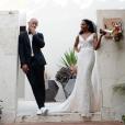 """La star de """"Grey's Anatomy"""" Kelly McCreary et le réalisateur Pete Catmon se sont mariés - mai 2019."""