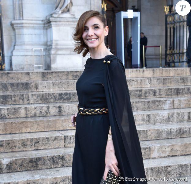 Clotilde Courau arrive au gala du 350ème anniversaire de l'Opéra Garnier à Paris, France, le 8 mai 2019. © Giancarlo Gorassini/Bestimage