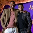 "Will Smith et Mena Massoud - Avant-première Parisienne du film ""Aladdin"" au Grand Rex à Paris le 8 mai 2019. © Olivier Borde/Bestimage"