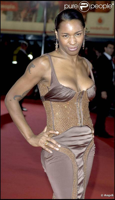 La chanteuse Sonique aux World Music Awards en 2006
