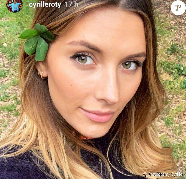 Camille Cerf à Rome avec son petit ami Cyrille - Instagram, 11 mai 2019