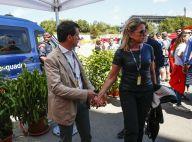 Manuel Valls complice avec Susana sous le soleil de Barcelone