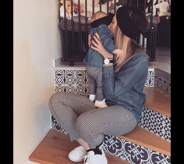 """Tiffany de """"Mariés au premier regard"""" et sa fille Romy - Instagram, 20 janvier 2019"""