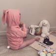 """Romy, la fille de Tiffany et Justin de """"Mariés au premier regard"""", à Pâques - Instagram, 21 avril 2019"""
