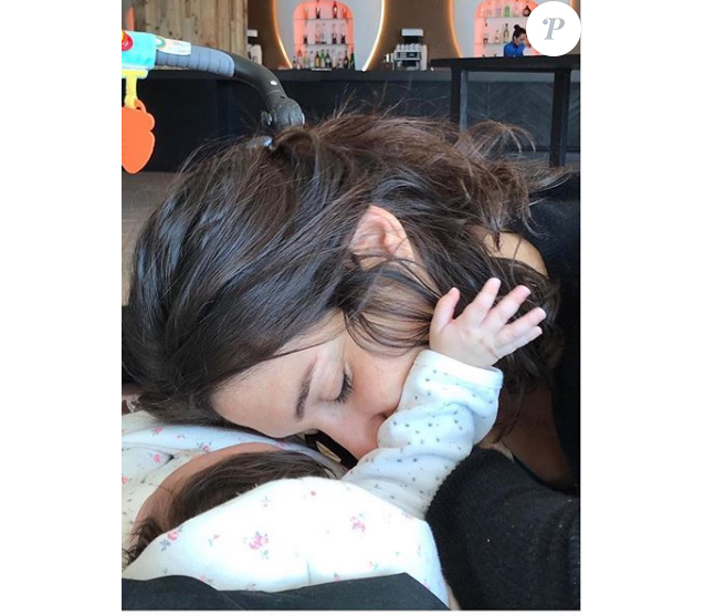 Laurie Cholewa et sa fille - Instagram, 30 mars 2019