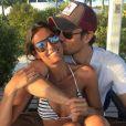 Ana Boyer et son demi frère Enrique Iglesias sur Instagram le 1er avril 2016.