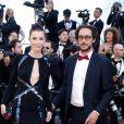 Thomas Hollande et Emilie Broussouloux lors de la montée des marches de la cérémonie de clôture du 70ème Festival International du Film de Cannes. Le 28 mai 2017. © Borde-Jacovides-Moreau / Bestimage