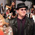 Grumpy Cat et ses maîtres Tabatha Bundesen et Bryan Bundesen lors de la soirée des MTV Movie Awards 2014 à Los Angeles, le 13 Avril 2014.