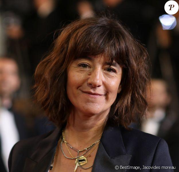"""Romane Bohringer - Montée des marches du film """"Sorry We Missed You"""" lors du 72ème Festival International du Film de Cannes. Le 16 mai 2019 © Jacovides-Moreau / Bestimage"""