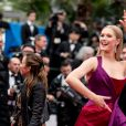 """Toni Garrn - Montée des marches du film """"Les plus belles années d'une vie"""" lors du 72ème Festival International du Film de Cannes. Le 18 mai 2019 © Jacovides-Moreau / Bestimage"""