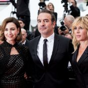 Elsa Zylberstein, Jean Dujardin et Mathilde Seigner, chic trio à Cannes