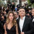 """Thomas Langmann et sa fille Lou - Montée des marches du film """"Les plus belles années d'une vie"""" lors du 72ème Festival International du Film de Cannes. Le 18 mai 2019 © Jacovides-Moreau / Bestimage"""