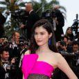 """Sui He - Montée des marches du film """"Les plus belles années d'une vie"""" lors du 72ème Festival International du Film de Cannes. Le 18 mai 2019 © Borde / Bestimage"""