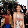 """Leyna Bloom - Montée des marches du film """"Les plus belles années d'une vie"""" lors du 72ème Festival International du Film de Cannes. Le 18 mai 2019 © Borde / Bestimage"""