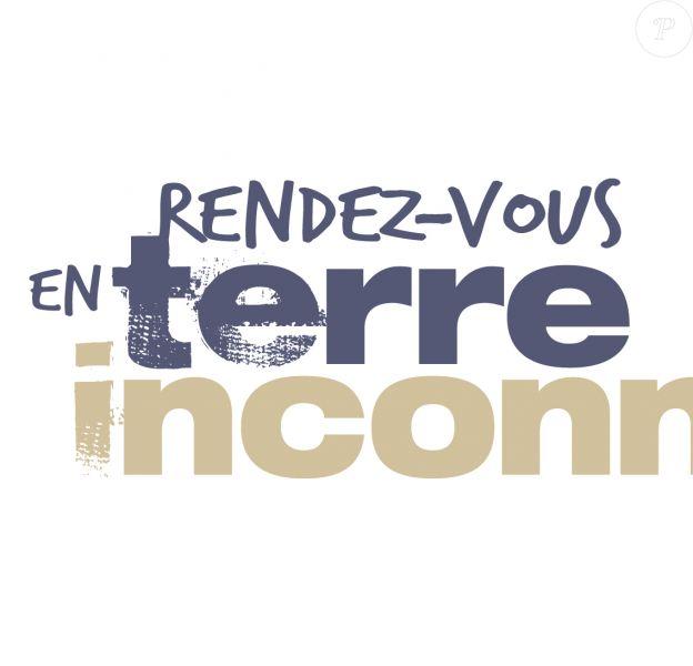 """Logo de l'émission """"Rendez-vous en terre inconnue""""."""