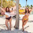 Ashley Graham et sa soeur Abigail figurent sur la nouvelle campagne publicitaire de Swimsuits For All. Mai 2019.