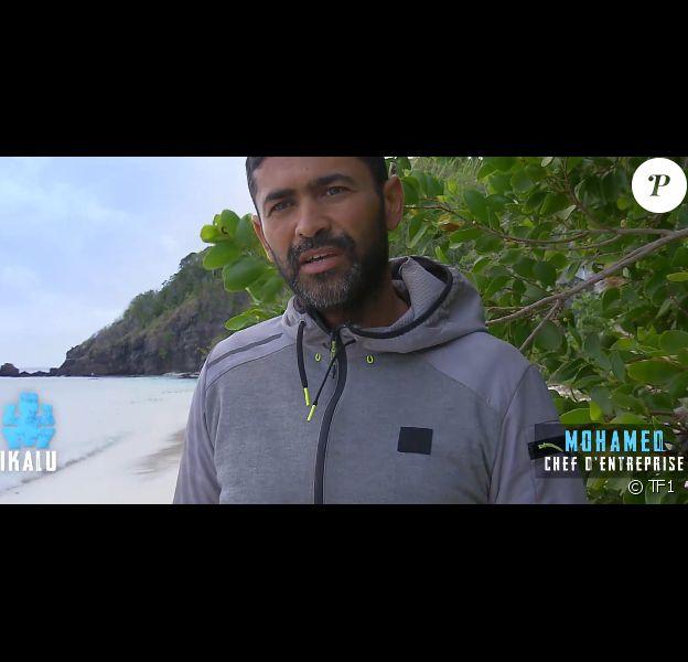 """Mohamed dans """"Koh-Lanta, la guerre des chefs"""" vendredi 26 avril 2019 sur TF1."""