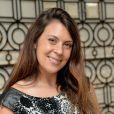 Exclusif - Marion Bartoli défie ses fans à la Wii pour l'association ELA à la boutique Maty, place de l'Opéra à Paris, le 20 septembre 2014.