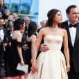 "Daniella Pick et son mari Quentin Tarantino - Montée des marches du film ""Hors Normes"" pour la clôture du 72ème Festival International du Film de Cannes. Le 25 mai 2019 © Borde / Bestimage  Red carpet for the movie ""Hors Normes"" during the 72nd Cannes International Film festival. On may 25th 201925/05/2019 -"