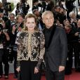 "Caroline Scheufele et Christoph Waltz - Montée des marches du film ""Hors Normes"" pour la clôture du 72ème Festival International du Film de Cannes. Le 25 mai 2019 © Jacovides-Moreau / Bestimage  Red carpet for the movie ""Hors Normes"" during the 72nd Cannes International Film festival. On may 25th 201925/05/2019 -"